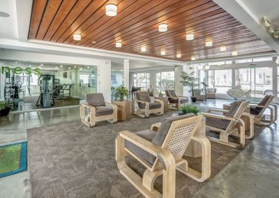 The Circle Apartments at Long Beach Lobby