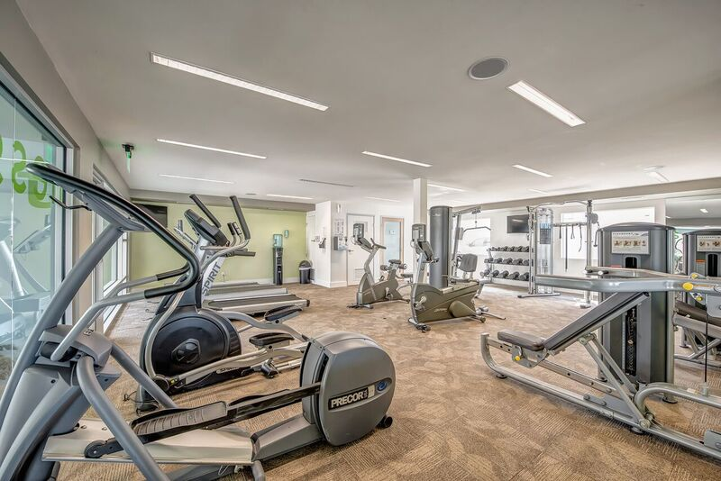 Fitness Center available at The Circle Apartments