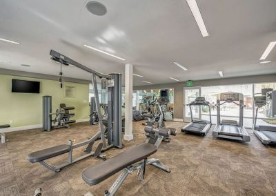 Modern Fitness Center with equipments
