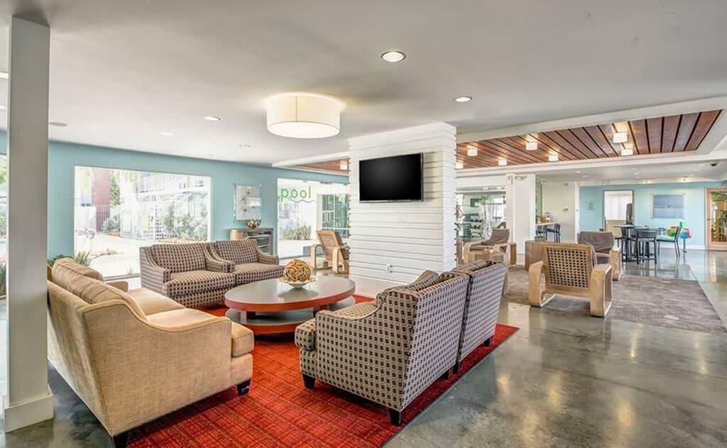 Spacious Lounge at The Circles Apartments
