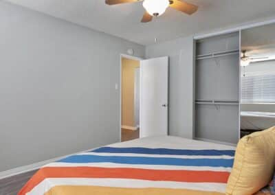 The Circle Apartments Guest Bedroom
