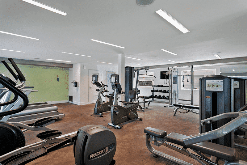 The Circle Apartments Gym