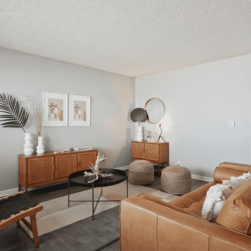 The Circle Apartments Main Living Room