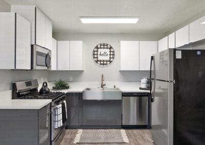 The Circle Apartments Renovated Kitchen